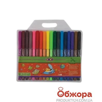 Фломастеры 18 цветов, 2803 – ИМ «Обжора»