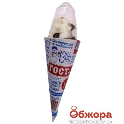 Мороженое Гостинчик с шокол.топпингом 140 г – ИМ «Обжора»
