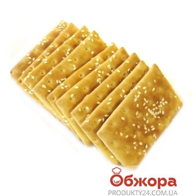 Печенье Домашне овсяное с кунжутом 400 г – ИМ «Обжора»