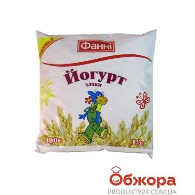 Йогурт Фанни 400г злаки 1% – ИМ «Обжора»