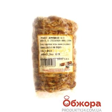 Рулет куриный Никифор запеченый – ИМ «Обжора»