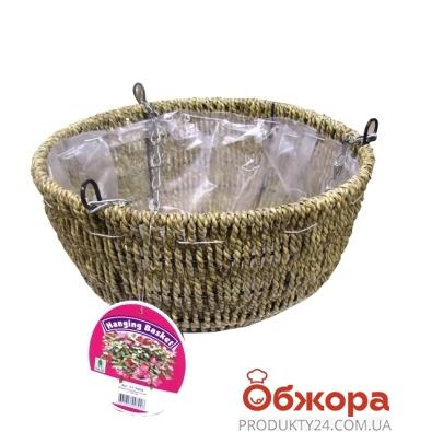 Кашпо плетенное Cord D30см 21-2004 – ИМ «Обжора»