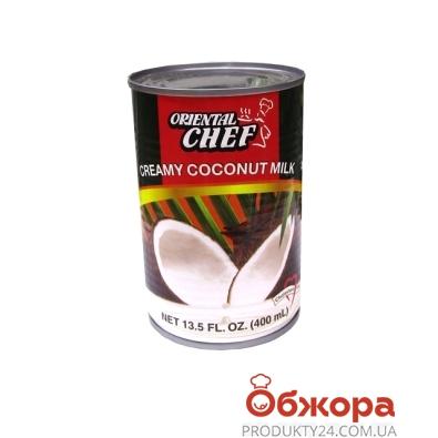 Сливки кокосовые жирность  400мл 20-22% – ИМ «Обжора»