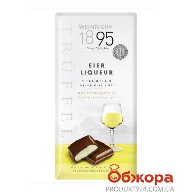 Шоколад Weinrichs 1895 молочный водка с лимоном-трюфель 100 г – ИМ «Обжора»