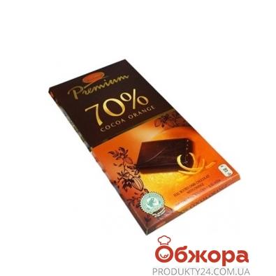Шоколад Elysia черный 70% апельсин 100 г – ИМ «Обжора»