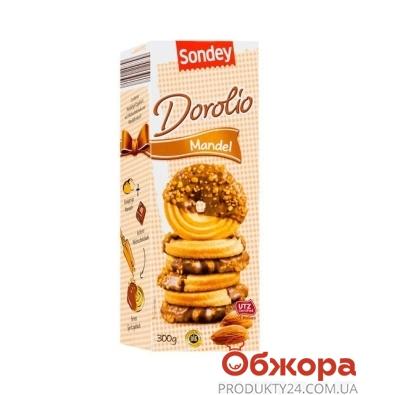 Печенье Сандей (Sandey) dorolio миндаль 300 г – ИМ «Обжора»