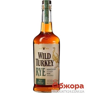 Виски Бурбон Уайлд Тёки (Wild Turkey) Rye 0,7 л – ИМ «Обжора»