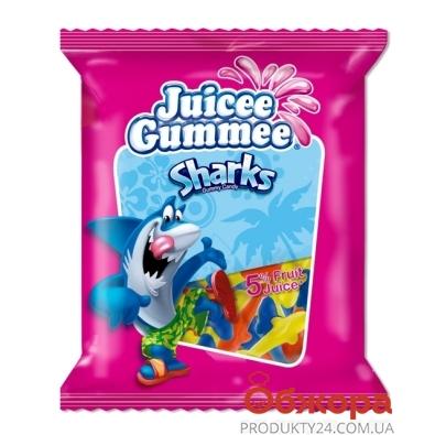 Конфеты Джусии-Гаммии (Juicee Gummee) акулы  80г – ИМ «Обжора»