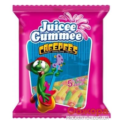Конфеты Джусии-Гаммии (Juicee Gummee) змеи 80 г – ИМ «Обжора»