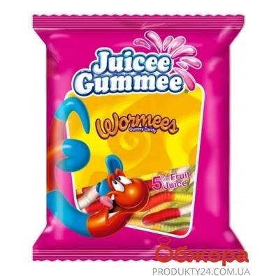 Конфеты Джусии-Гаммии (Juicee Gummee) червячки 80 г – ИМ «Обжора»