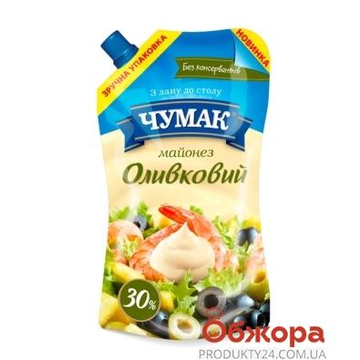Майонез Чумак Оливковый 385 г – ИМ «Обжора»