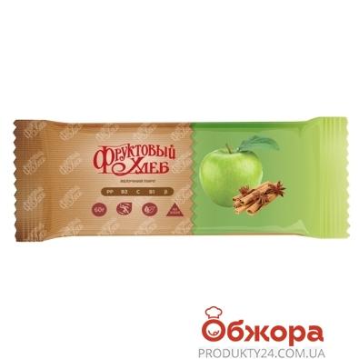 Батончик Сладкий мир фруктовый хлеб яблочный пирог 60 г – ИМ «Обжора»