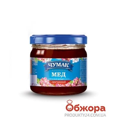 Мед Чумак Гречаный 240 г – ИМ «Обжора»