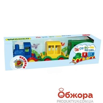 Паровозик Kid cars 3 шт. 39260 – ИМ «Обжора»