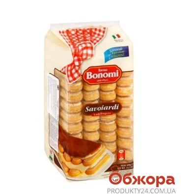 Печенье Bonomi савоярди для тирамису шоколад 200 г – ИМ «Обжора»