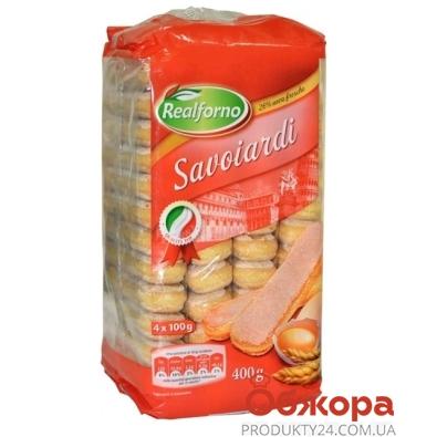 Печенье Реалфорно (Realforno)  Dileo савоярди для тирамису 400г – ИМ «Обжора»