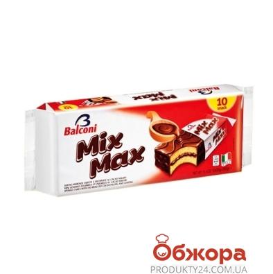 Бисквит Балкони (Balconi) mix max карамель 350г – ИМ «Обжора»