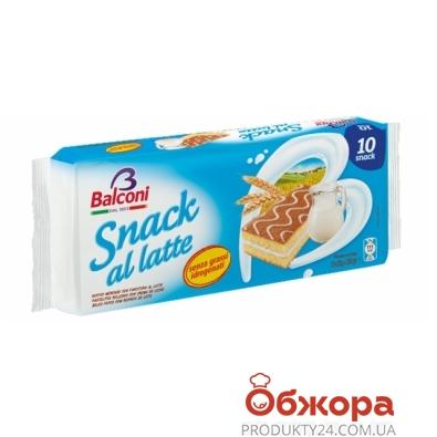 Бисквит Балкони snack al latte 280г – ИМ «Обжора»