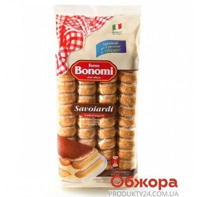 Печенье Форно Бономи (Bonomi) савоярди для тирамису 400г – ИМ «Обжора»