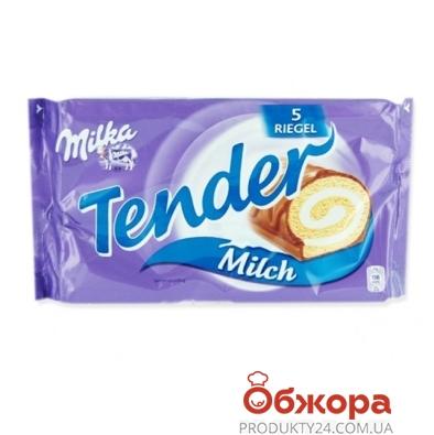 Рулет Милка (Milka) tender 185г – ИМ «Обжора»