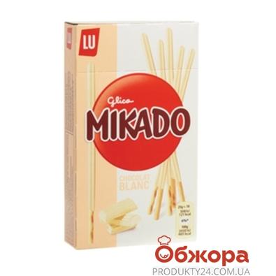Соломка Микадо (Mikado) белый шоколад 70г – ИМ «Обжора»