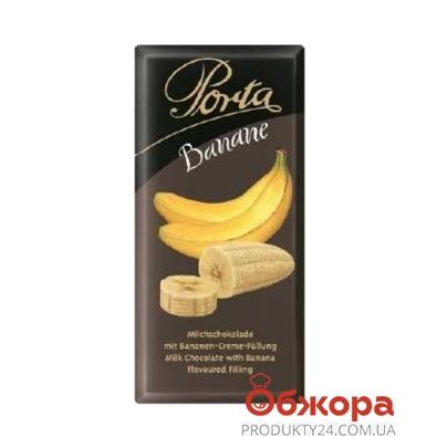 Шоколад Порта (Porta) молочный с бананом 100 г – ИМ «Обжора»