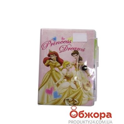 Блокнот Камелия Disney средн. с ручкой+блокнот на 3 отд. 50307 – ИМ «Обжора»