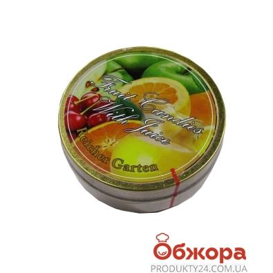 Леденцы Ричер Гартен (Richer Garden) фруктовый микс с соком 180г – ИМ «Обжора»