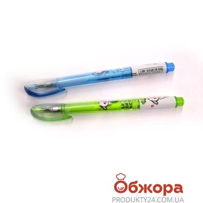 Ручка гелевая TECHJOB цветной корпус  0,5мм        365 – ИМ «Обжора»
