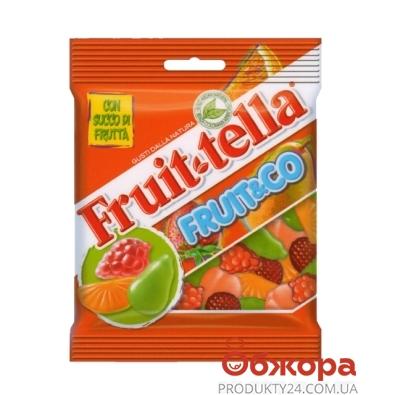Жевательный мармелад Фрутелла (Fruittella) fruit&co 90 г – ИМ «Обжора»