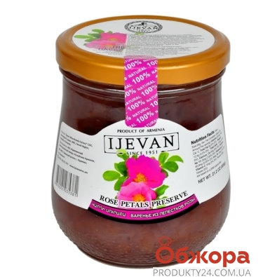 Варенье Иджеван (Ijevan) из лепестков роз 280 г – ИМ «Обжора»