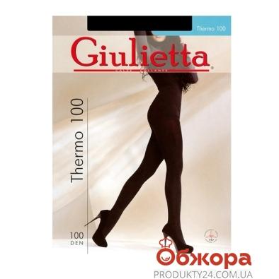 Колготы Джульетта (GIULIETTA) THERMO 100 NERO 3 – ИМ «Обжора»