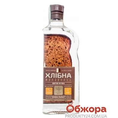 Водка Хлебная половинка Ржаная Мягкая 37,5% 0,45 л – ИМ «Обжора»