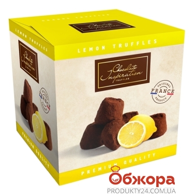 Конфеты Чоколат Инспирейшн (Chocolate Inspiration) трюфель с апельсином 200 г – ИМ «Обжора»