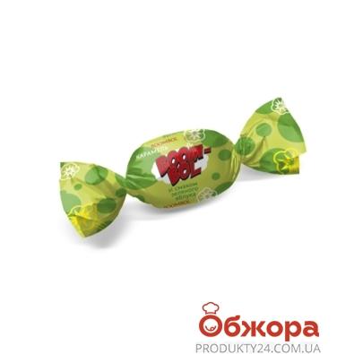 Конфеты Конти (Konti) кар бум-бол зеленое яблоко – ИМ «Обжора»