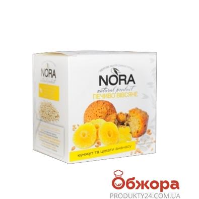 Печенье Туррон (Turron) овсяное кунжут и цукаты из ананас  250 г – ИМ «Обжора»