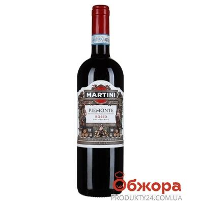 Вино Мартини Пьемонт Россо красное сухое 0,75 л – ИМ «Обжора»