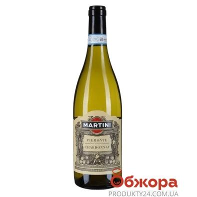 Вино Мартини (Martini) Пьемонт Шардоне сухое белое 0,75 л – ИМ «Обжора»