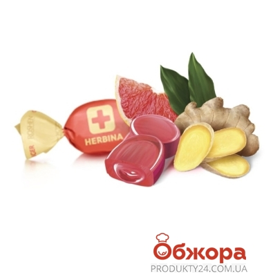 Конфеты Рошен Хербина имбирь грейпфрут – ИМ «Обжора»