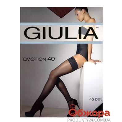 Чулки GUILIA EMOTION 40 NERO4 – ИМ «Обжора»