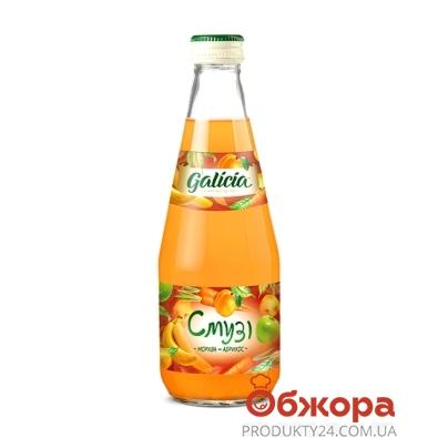 Сок Галичия (Galicia) Смузи морковь-абрикос 0,3л – ИМ «Обжора»