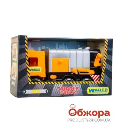 Мусоровоз Middle truck city 39312 – ИМ «Обжора»
