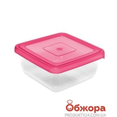 """Емкость для морозилки BRQ квадратная """"ARCTIC"""", 1,25л – ИМ «Обжора»"""