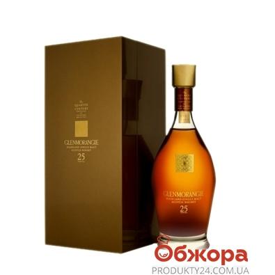 Виски Гленморанж (Glenmorangie) 25 лет 43% 0,7 л – ИМ «Обжора»