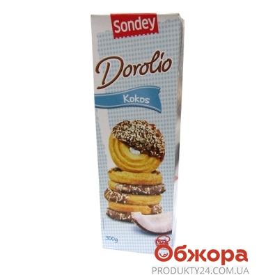 Печенье Сандей (Sandey) dorolio кокос  300г – ИМ «Обжора»