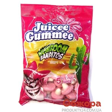 Конфеты Джусии-Гаммии (Juicee Gummee) грибы бандиты 150 г – ИМ «Обжора»