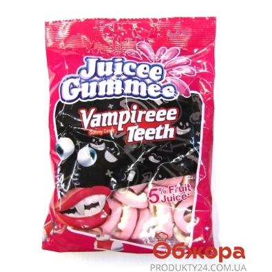 Конфеты Джусии-Гаммии (Juicee Gummee) зубы вампира 150 г – ИМ «Обжора»