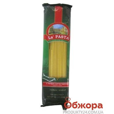Лапша Ла Паста длинная 400 г – ИМ «Обжора»