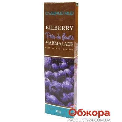 Мармелад Сладкий мир Patte de Fruits черника 192 г – ИМ «Обжора»