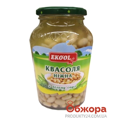 Фасоль  Эко Ол в белом соусе 480г – ИМ «Обжора»